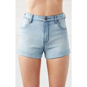 Kendall & Kylie High Rise Rolled Hem Shorts